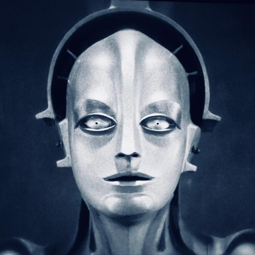 """Maria"" - Fritz Lang - METROPOLIS - 1927"